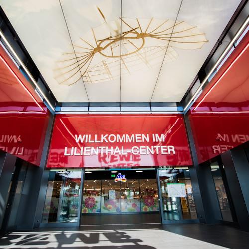 Lilienthal-Center Mannheim Eingang